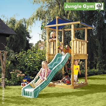 Detské ihrisko Jungle Gym Hut | Preliezkovo.sk